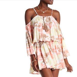 Tiara Hawaii Kris Cold Shoulder Dress